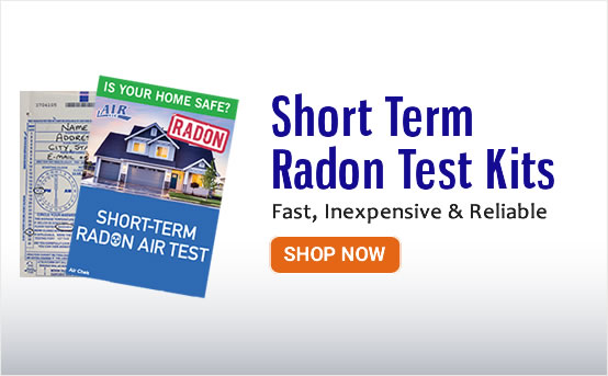 Short Term Radon Test Kits